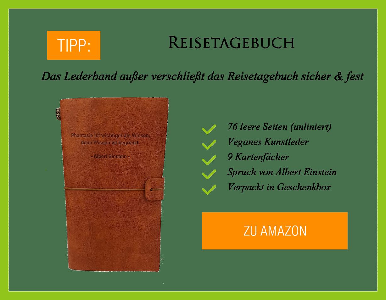 Reisetagebuch-Angebot